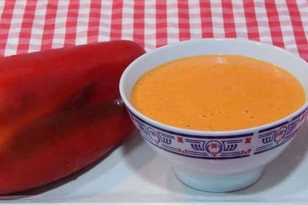Salsa de Pimiento Rojo, Salsa de Chile Morrón