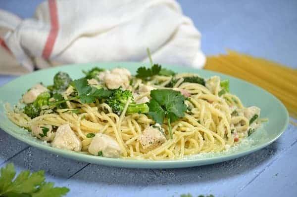 Como hacer Spaghetti Alfredo