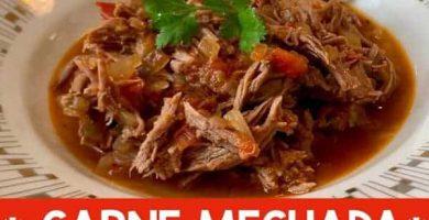 Carne Mechada, carne deshebrada