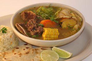 receta de sopa de res, caldo de res