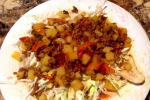 receta de Tajadas con Carne Molida Honduras