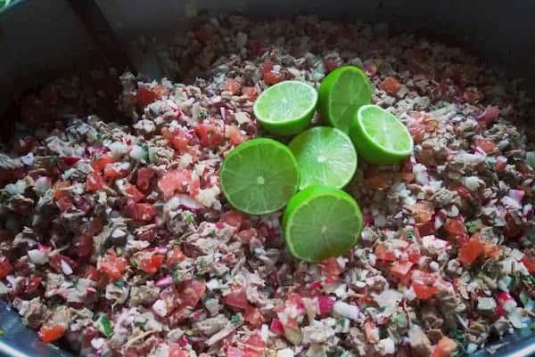 receta de salpicon de res guatemalteco