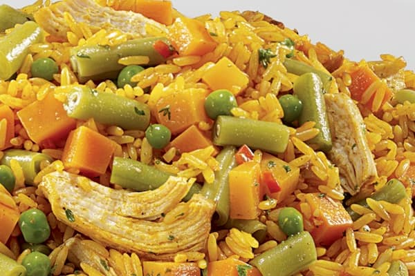 pollo con arroz hondureño